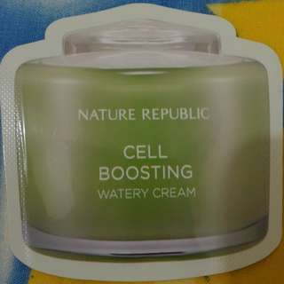 Cell Boosting Watery Cream - Nature Republic (sachet)