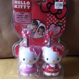 Hello kitty walkie talkie