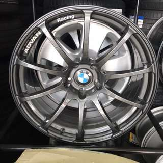 "Advan Racing RS Original Made in Japan 19"" BMW E92 M3 / E60"