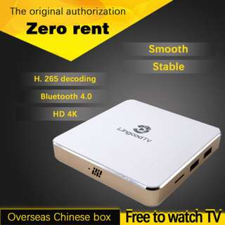 [Original licensed 1 Year/3 Years Subscription] Lingcod TV LS5 VP9 3D Android 6.0 Chinese IPTV S905X Quad Core H.265 UHD 4K FREE 4GB SD Card fully loaded with APK Files
