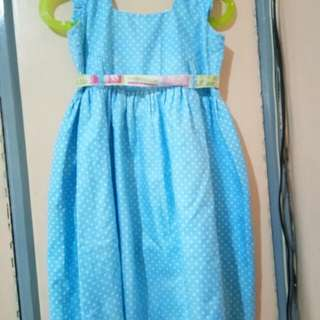 Baby Blue Dreaa with Ribbon