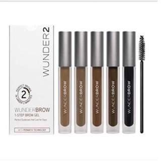 Wunder brow  Auburn. Brunette. Blonde. Black/brown.