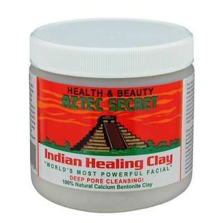 HEALTHY OPTIONS AZTEC INDIAN HEALING CLAY (50g,100g,200g)