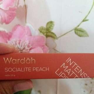 Wardah Intense Matte Socialite Peach no.01