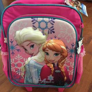 BN Frozen trolley kids bag