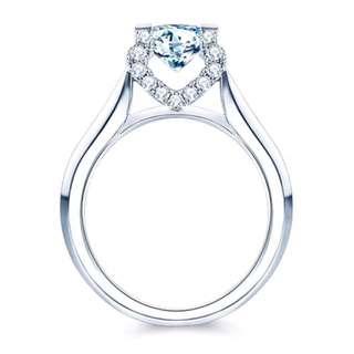 30分H-SI1天然鑽石戒指💍情人節求婚紀念日禮物