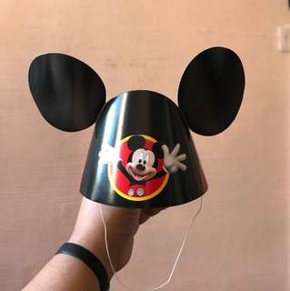 Kids Mickey Mouse Paper Hat