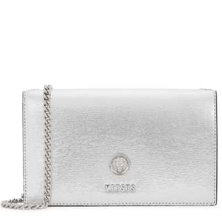 *2月only* VERSUS VERSACE Silver leather cross-body bag