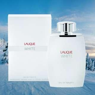 Lalique White for men fragrance (Eau De Toilette) (EDT 125ml - 4.2 Fl Oz) (Gets compared to Parfums De Marly Galloway) (100% Authentic)