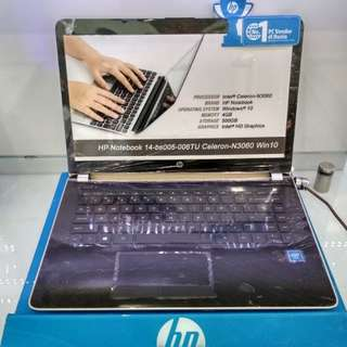 HP 14-bs005 Bisa Dicicil tanpa kartu kredit Promo Bunga 0%
