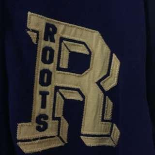🚚 ROOTS防潑水 純棉棒球外套