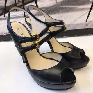 Prada Leather High Heel