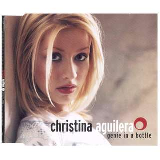 Christina Aguilera ‎Genie In A Bottle cd single
