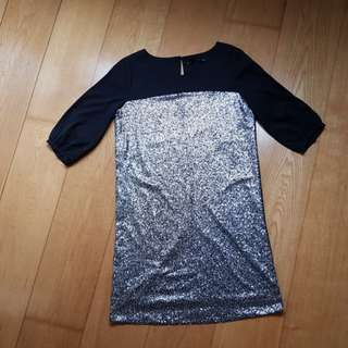 Sequined Forme dress