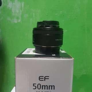 Lensa Fix canon 50mm STM