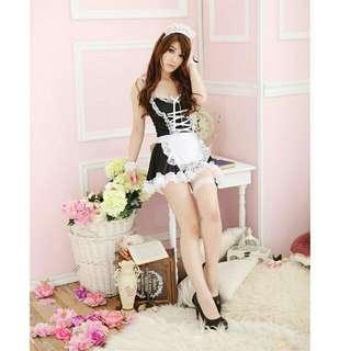Maid Costume Lingerie Set