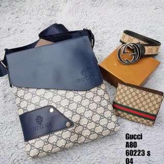 Gucci set 3in1