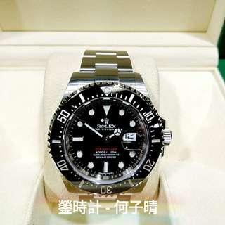 Rolex 126600 SEA - DWELLER 43mm 單紅 2018錶  全套齊 99%新 接近未用品 全錶膠紙接近未撕