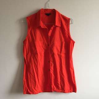 Orange / Oranye Formal Top