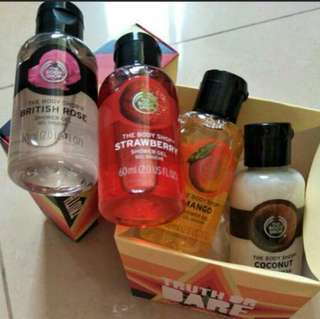 Body shop truth or dare house of holland body bath wash set shower