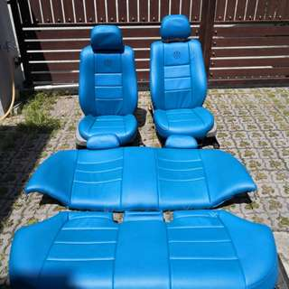 BMW E46 Electric Seat Biru