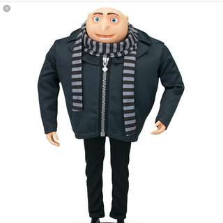 "Gru Despicable Me 2 15"" Collertor's Item"
