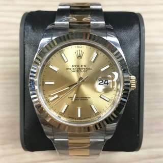 Rolex 126333 Champ Index Oys