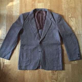 古著羊毛西裝 日本製