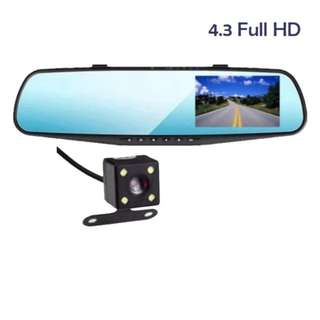 4.3 inch  1080HD Dash  cam Video recorder dual lens..