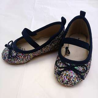 Baby Girl Confetti shoes
