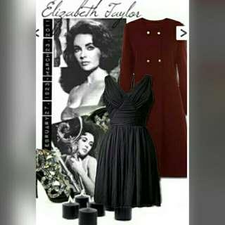 Elizabeth Taylor Classic Coat Dress DC-E0028-1