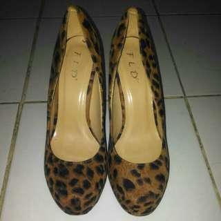 Fladeo Leopard Heels