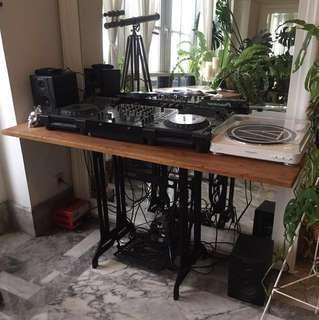 SALE✨Console table iron & teak wood / meja konsol jati