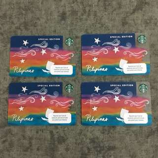 Starbucks Vinta Card & Coffee Card