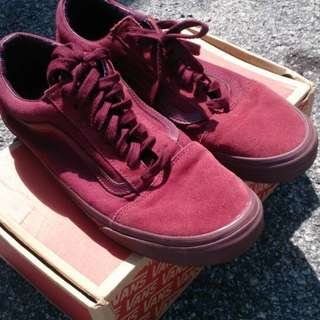 Vans Old Skool Maroon uk11