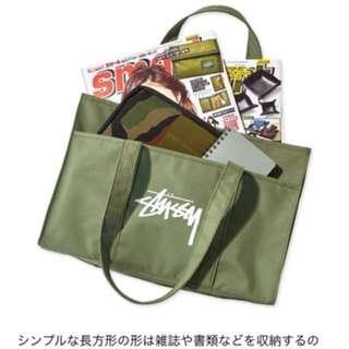 日本直送Stussy日本雜誌包女款