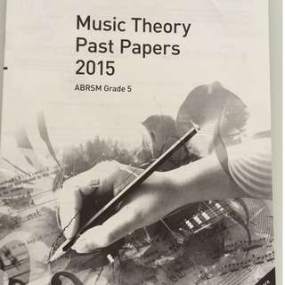 Grade 5 Music Theory Past Papers 2015