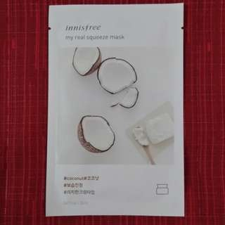 Innisfree - My Real Squeeze Mask - Coco