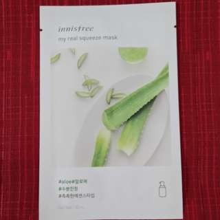 Innisfree - My Real Squeeze Mask - Aloe