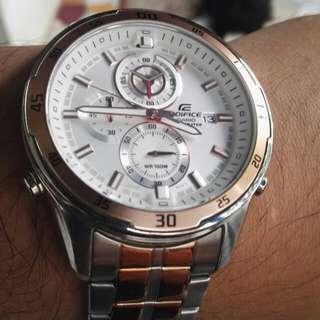 Edifice Super Illuminator Chronograph Men's Watch