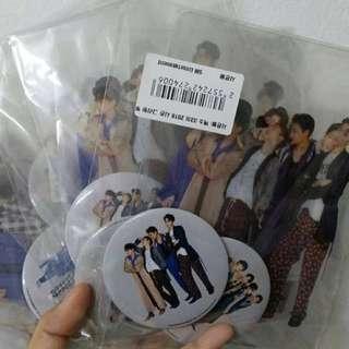 EXO SM Badge, Cards