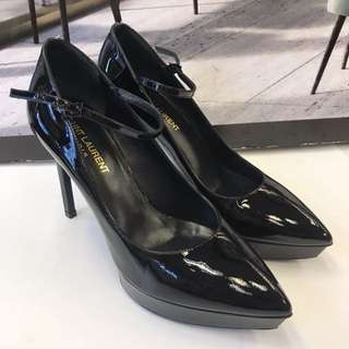 全新Saint Laurent Patent Leather High Heel