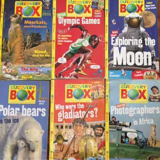 Discovery Box Magazine 21 Issues
