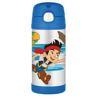 SALE!! Thermos Funtainer 12 Ounce Bottle, Jake and The Neverland Pirates