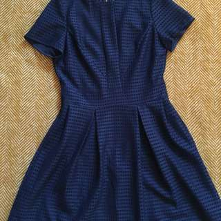 Mia navy lace dress // perfect condition // size 10
