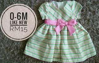 0-6m dress