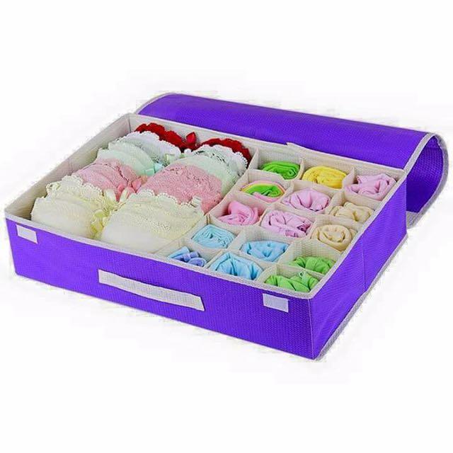 15 Layer Organizer Box Underwear Foldable Organizer