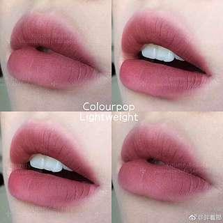 BNIB Authentic Colourpop Ultra Matte Liquid Lipstick - Lightweight