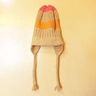 Pastel beanie from Baguio