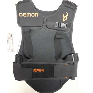 Brand New! Demon Spine Protector with D3O - S Size